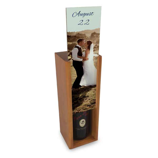 Store your wine and spirits out of site with a personalized wine box
