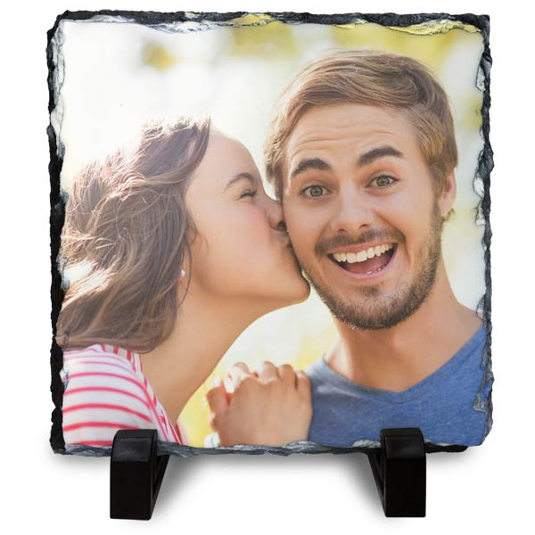 Print your photo on stone with decor photo slates from MyPix2