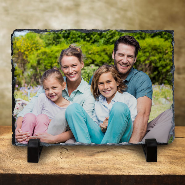 Create photo art for your home, print your picture on stone with photo slates