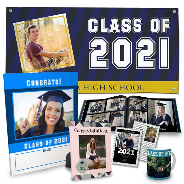 Create beautiful graduation gifts and party favors for your graduate