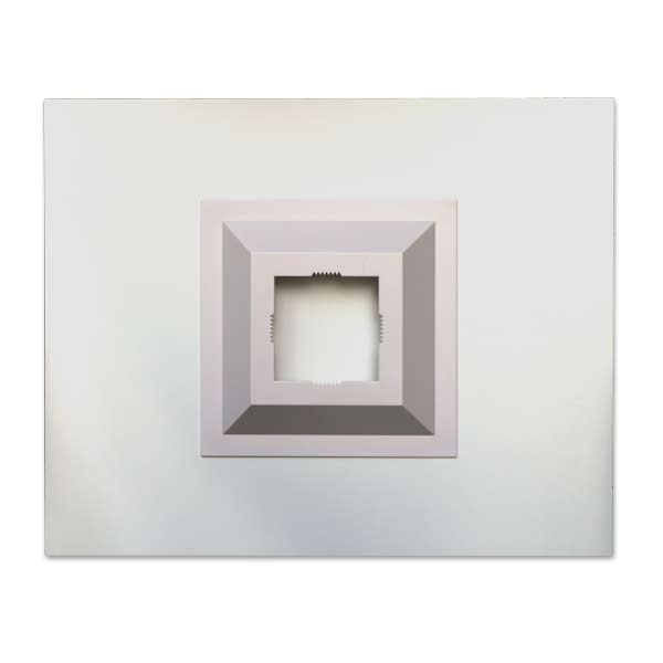 Quality acrylic panels with floating mount back are ideal for any home or office