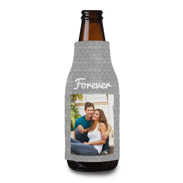 Create a custom bottle cooler to keep your beer or glass bottle drink cool