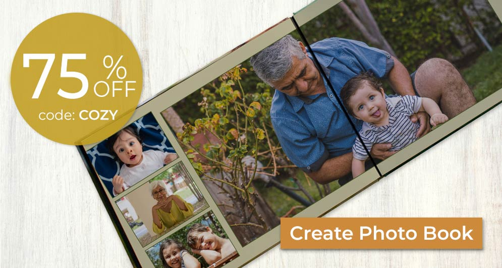 Create your own photo book and build a collection of memories