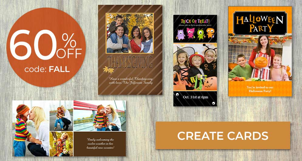 Custom cards for any holiday make a great impression